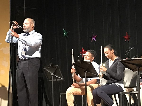 Mr. Brewer thanks all the performers in the concert.
